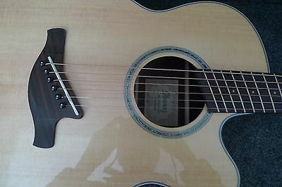 IBANEZ AELFF10NT Fanned-fret Multi Scale 6 STRING Acoustic-Electric SPRUCE TOP !