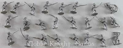 Minifigs American Revolution 15mm Loose Mi Continental Riflemen Collection  NM