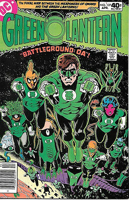 Green Lantern Comic Book #127, DC Comics 1980 NEAR MINT