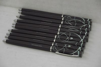Sheraton Hotel Purple Plastic Pen Silvertone Trim Sheraton Pens Lot Of 10