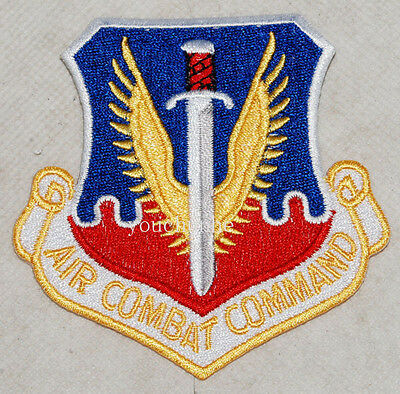 Military Patch Colored Us Air Force Usaf Air Combat Command -32419