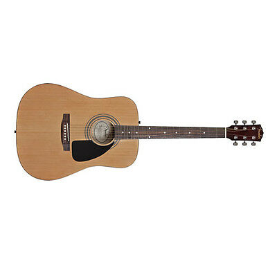 Fender FA-100 Acoustic Pack w/Gig Bag Natural DEMO
