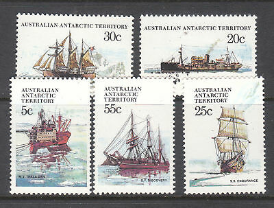 1979 AAT Ships of the Antarctic - Series I MUH