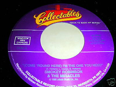 Smokey Robinson-(Come Round Here) I'm The One You Need