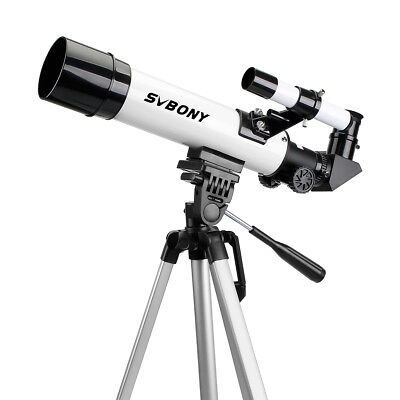 New Astronomical Refractor Telescope with Cell Phone Mount Adapter Kids Toy US