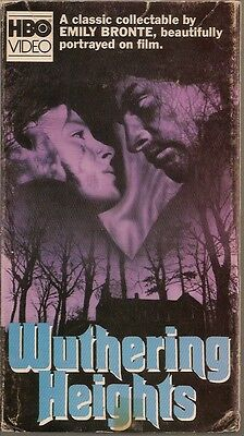 Wuthering Heights (BETA/Betamax) 1971 Timothy Dalton, Anna Calder-Marshall