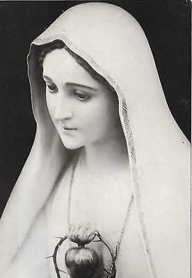 Fatima - Immaculate Heart of Mary - Statue  - Posted Postcard