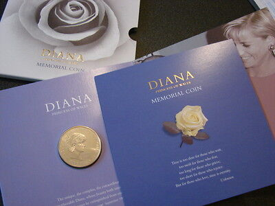 1999 Diana Memorial £5 Five Pound Coin, BUNC in Royal Mint Special Pack