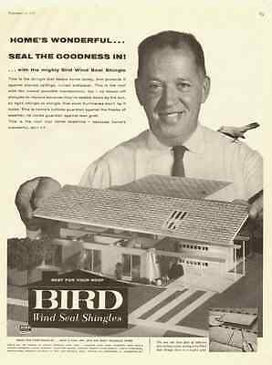 1959 vintage ad, Bird Wind Seal Singles for your Roof-021213