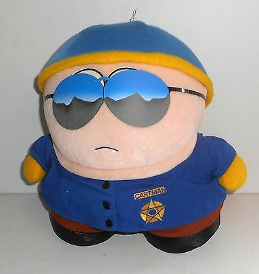 "Vintage 1998 Comedy Central South Park - OFFICER CARTMAN - 10"" Plush Toy (C45)"