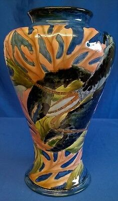 Moorcroft Cobridge Stoneware Lobster Vase - Sealife Creature Crustacean