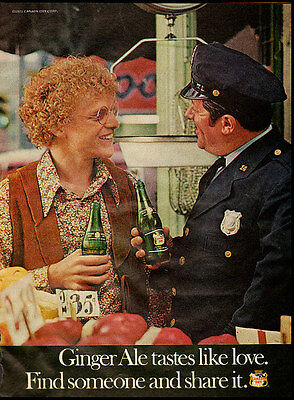 1971 vintage ad for Canada Dry Ginger Ale  -010112