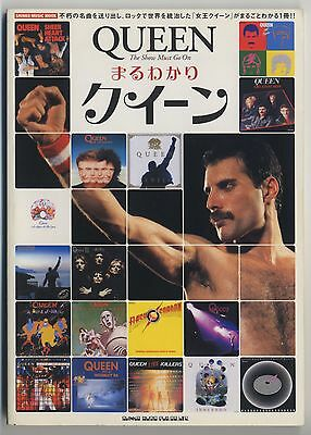 Queen - The Show Must Go On JAPAN PHOTO BOOK Published in 2004