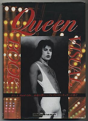 Queen - Visual Book JAPAN PHOTO BOOK It's a Hard Life Tribute to Freddie Mercury