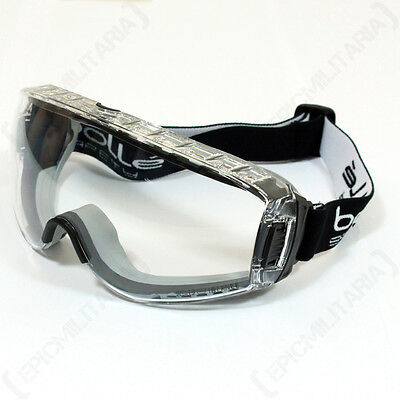 Bolle PILOT GOGGLES - Airsoft Paintball Army Military Protective - BLACK