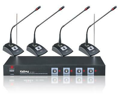 Karma 2243200 - Conference Kit with 4 wireless microphones