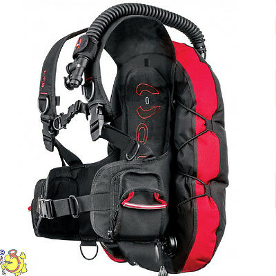 UK Hollis L.T.S. scuba diving LTS BCD light weigt size L