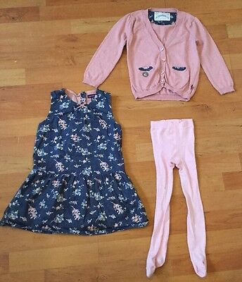 Girls Sergent Major 3 year old Outfit, dress, cardigan and tights
