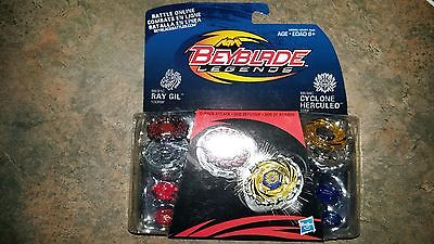 Beyblade Legends 2 Pack Ray Gill and Cyclone Herculeo