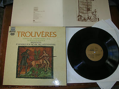 MINT - 3LPBOX MITTELALTER - Trouvères - Liebeslieder Nord France 1175-1300