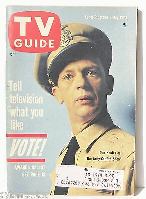 1962 TV GUIDE Magazine May 12-18 Don Knotts Allen Funt Great Condition