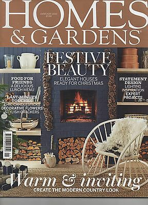 Homes & Gardens  Magazine  January  2015