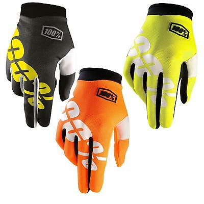 100% Prozent iTrack Kinder Handschuhe Clarino MTB DH MX Motocross Enduro Offroad