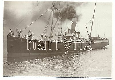 Isle of Man Steam Packet SS Fenella 1. Repro Postcard