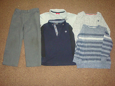 job lot of boys clothing age 3-4 years