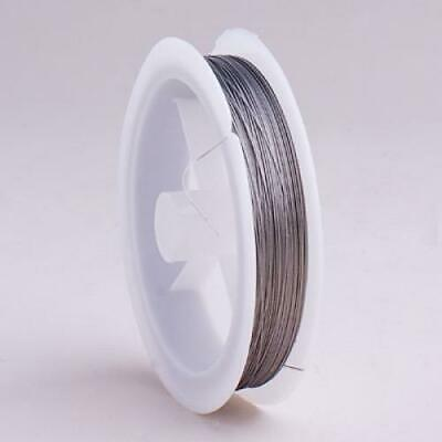 90m A-GRADE BEADING WIRE 0.3mm TIGERTAIL - SIER
