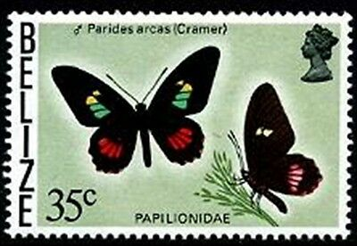 BELIZE Sc.# 355A Butterflies NH Stamps