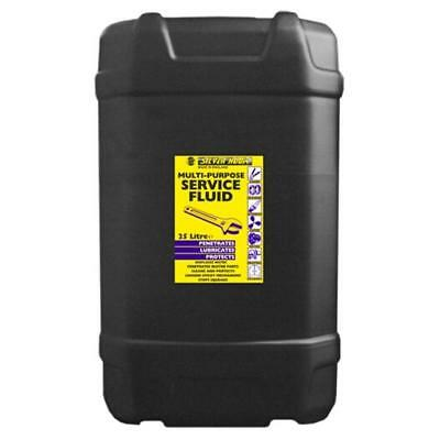 Silverhook Workshop Service Spray 25 Litre Penetrates/Lubricates/Displaces Water