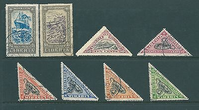 Vintage stamps from LIBERIA - Collection of Registered values