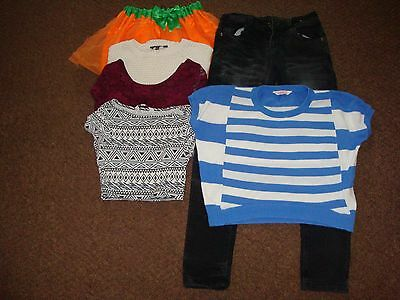 job lot of girls clothing age 10-11 years