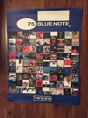 BLUE NOTE: 75TH Anniversary, Promo Only Poster