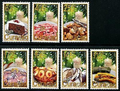 CURACAO Sc.# 54-60 December Stamps 2011
