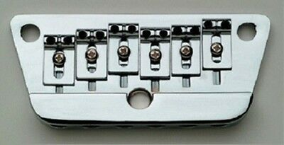 NEW - Danelectro Intonatable Bridge for U3 - CHROME
