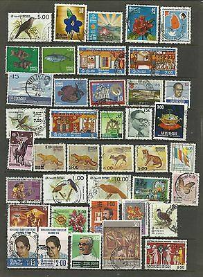 SRI LANKA Colourful lot of 40 Different fine used