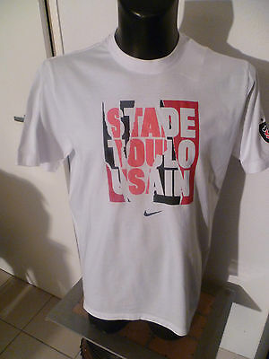 superbe t-shirt rugby stade toulousain taille:L nike