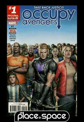Occupy Avengers #1 - 2Nd Printing (Wk49)