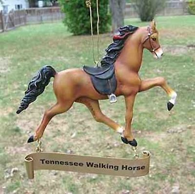 Holiday TENNESSEE WALKIN HORSE Resin Christmas Tree Ornament