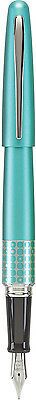 Pilot Metropolitan MR Retro Pop Fountain Pen - TURQUOISE w/ Accents - Fine Nib
