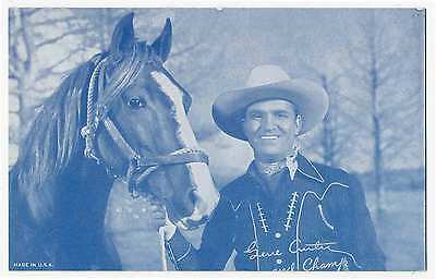 Gene Autry and his Horse Champ,  Penny Arcade Card