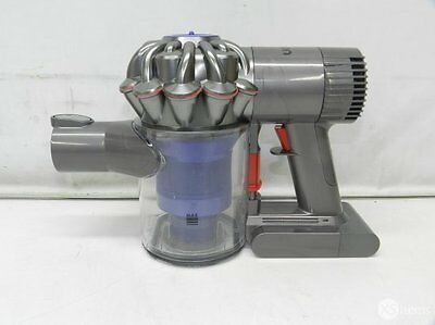 Dyson SV03 V6 Fluffy Cordless Vacuum Cleaner Purple Grey Handheld Cleaning Home