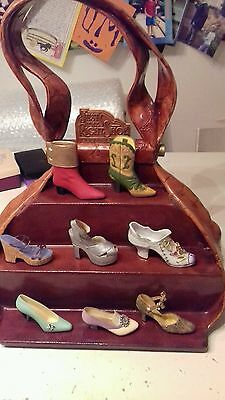 Just the Right Shoe Display Stand for Miniature Handbags Hat Shoes