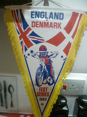 Rare Original Vintage Speedway Pennant**suit Collector**rare**buy Now Bargain**