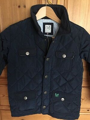 Crew Age 7 Quilted Navy Jacket