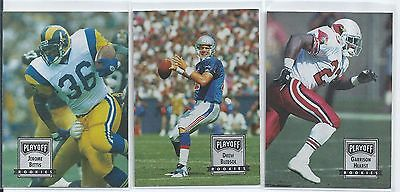 1993 Playoff Contenders Football Complete Set 150 Cards