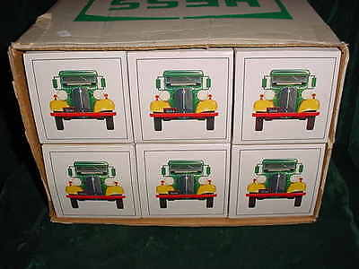 85 Xmas Christmas Collectable Trucks 1985 First Hess Truck Toy Bank From Case