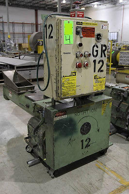 BALL & JEWELL HAF-812-SCX PLASTIC GRANULATOR recycling 460/3/60 Electrical